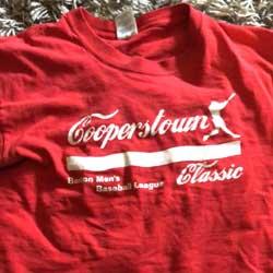 2007 Cooperstown Tee Shirt