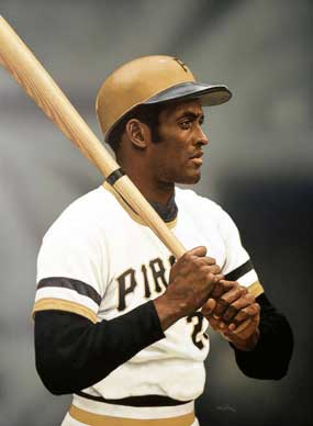 Arthur K. Miller, Roberto Clemente of the Pittsburgh Pirates