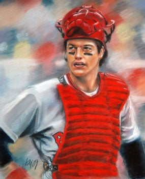 Kevin McNeil, Carlton Fisk of the Boston Red Sox