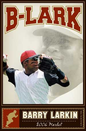 Barry Larkin, B-Lark Merlot wine