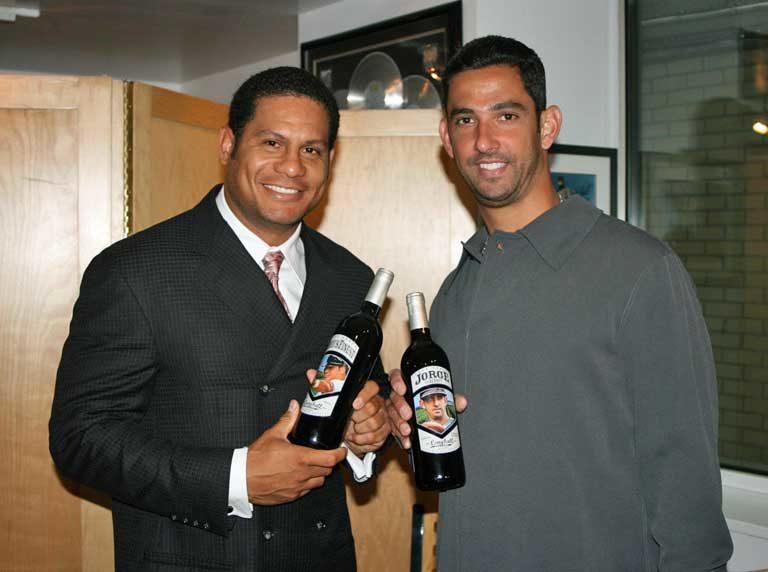 Bobby Abreu and Jorge Posada Charity Wines
