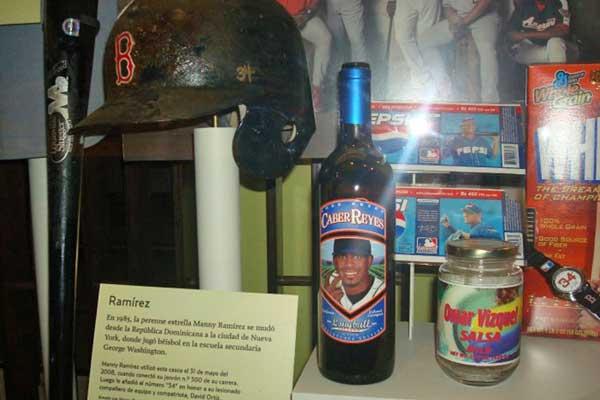 Jose Reyes' CaberReyes at Baseball Hall of Fame