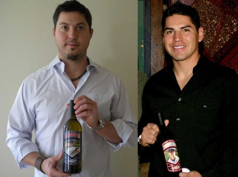 Josh Beckett and Jacoby Ellsbury Charity Wines
