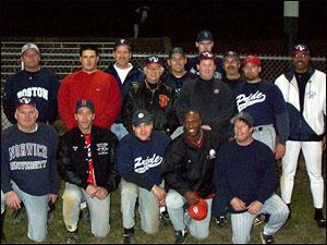 2001 Inaugural MSBL Winterball Team