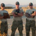 U.S. Army Baseball Players