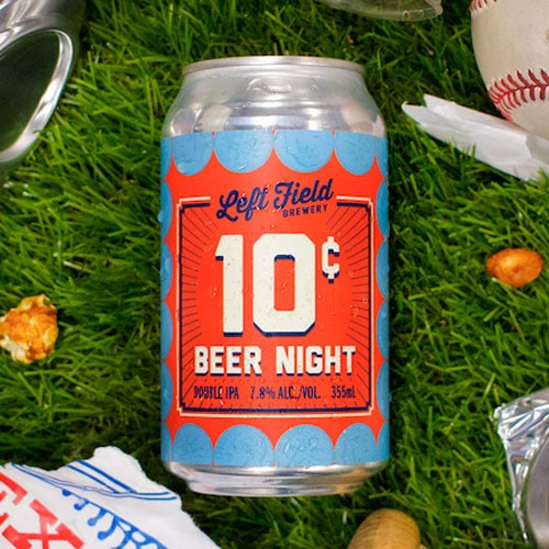 10 Cent Beer Night - Left Field Brewery
