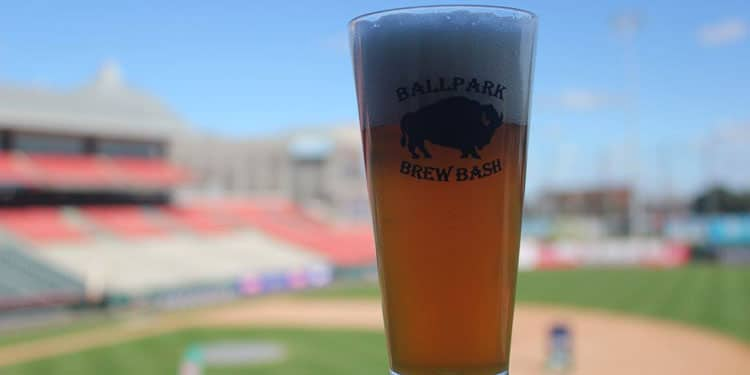 Buffalo Brewer Series at the ballpark