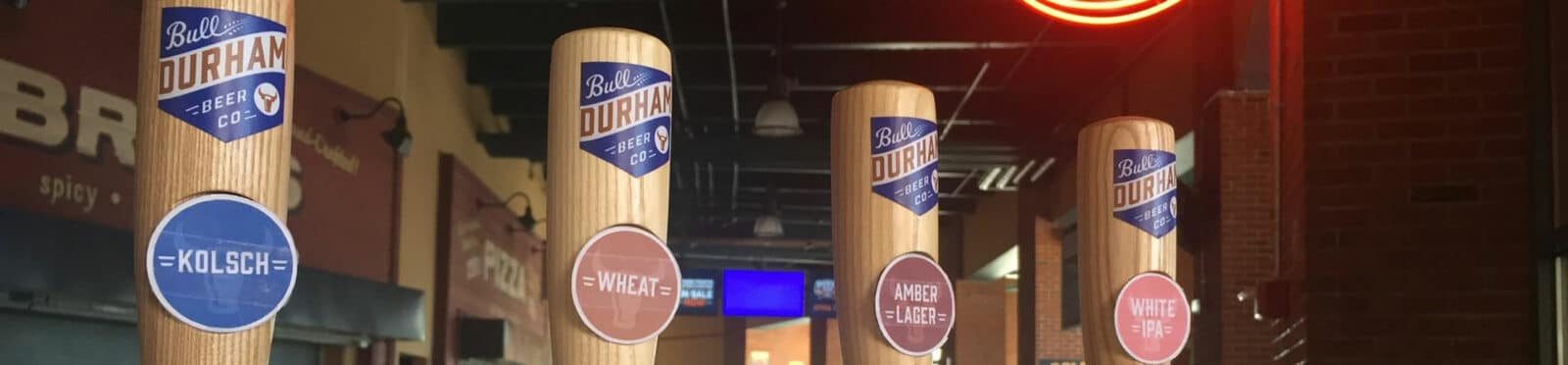 Beers from the Bull Durham Beer Co