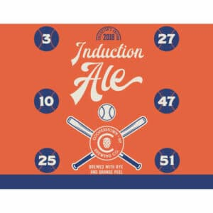 Cooperstown Brewing Co. – Induction Ale, 2018