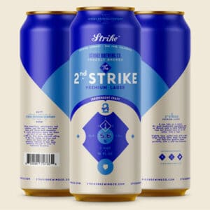 2nd Strike - Strike Brewing Co.