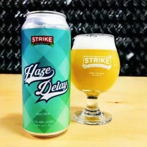 Haze Delay – Strike Brewing Co.