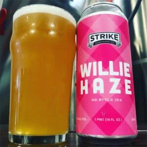 Willie Haze - Strike Brewing Co.