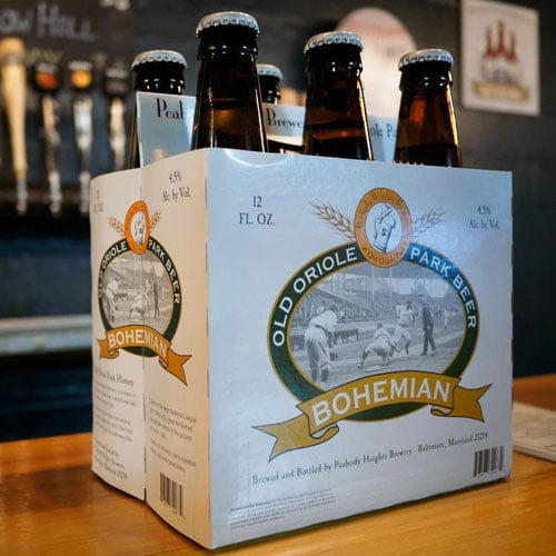 Old Oriole Park Beer – Peabody Heights Brewery