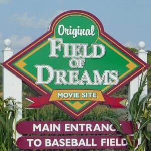 Field of Dreams Sign & Logo