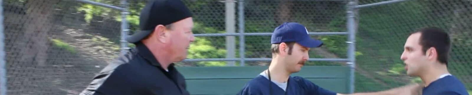 The Umpire baseball movie header