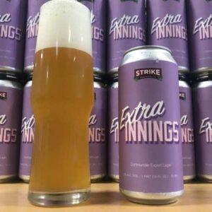 Extra Innings Dortmunder Export - Strike Brewing Co.