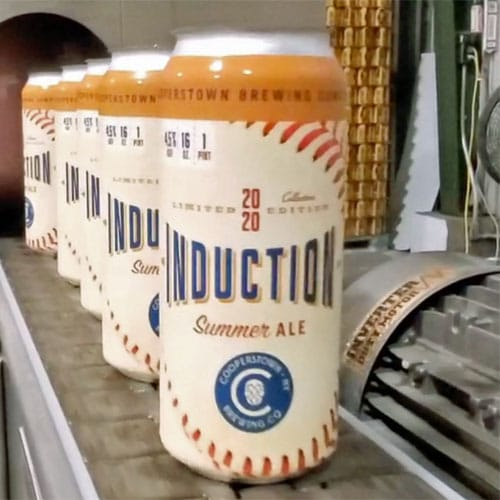 Induction Ale, 2020, Cooperstown Brewing