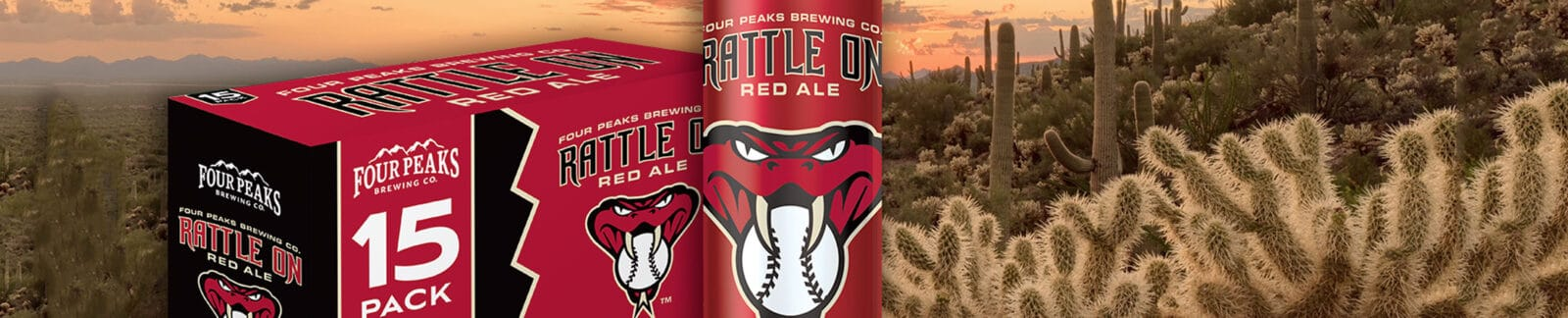 Rattle On Red Ale by Four Peaks Brewing header