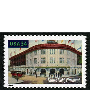 Forbes Field, Legendary Playing Fields, U.S. Postage Stamp – 34¢