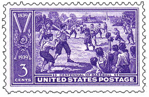 Baseball U.S. Postage Stamp