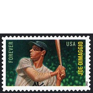 Joe Dimaggio, U.S. Postage Stamp – Forever