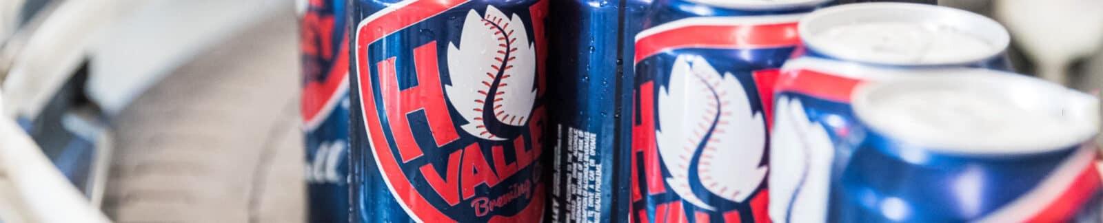 Hop Valley Brewing, Ace Ball header