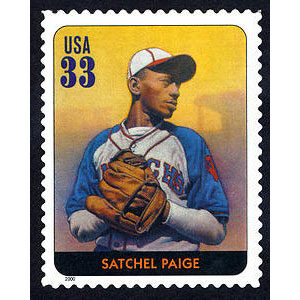 Satchel Paige, Legends of Baseball U.S. Postage Stamp – 33¢