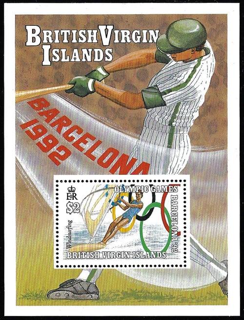 1990 British Virgin Islands – Olympic Games in Barcelona