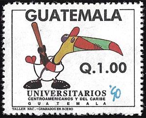 1990 Guatemala – Universitarios '90, Centroamericanos y del Caribe