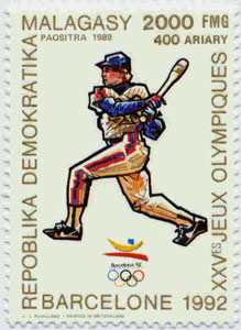 1990 Malagasy – Olympic Games in Barcelona