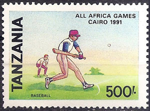 1991 Tanzania – 5th All Africa Games in Cairo
