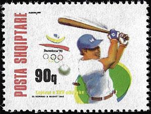 1992 Albania – Olympics in Barcelona