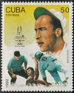 1992 Cuba – Martín Dihigo at the Olympics in Barcelona
