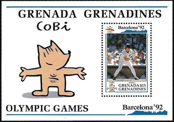 1992 Grenada – Barcelona Olympics with Don Mattingly