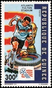 1992 Guinea – Atlanta Fulton County Stadium