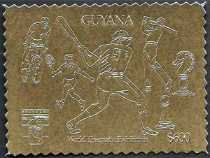 1992 Guyana – World Thematic Exhibition, Gold