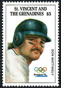 1992 St. Vincent – Olympic Games, Don Mattingly