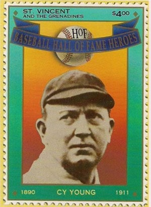 1992 St. Vincents – Hall of Fame Heroes, Cy Young