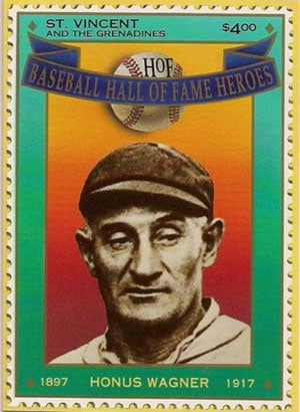 1992 St. Vincents – Hall of Fame Heroes, Honus Wagner