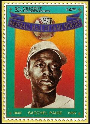1992 St. Vincents – Hall of Fame Heroes, Satchel Paige