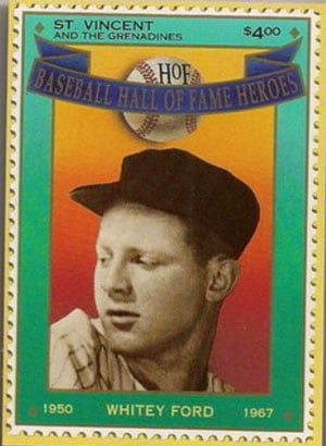 1992 St. Vincents – Hall of Fame Heroes, Whitey Ford