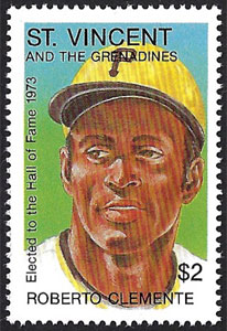 1992 St. Vincents – Elected to the Hall of Fame, Roberto Clemente