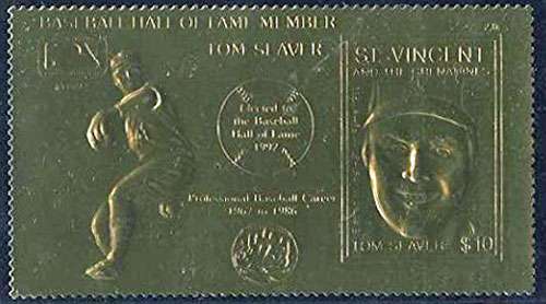 1992 St. Vincents – Elected to the Hall of Fame, Tom Seaver, 23k Gold