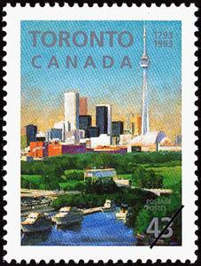 1993 Canada – Toronto Skyline with Skydome