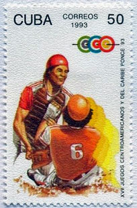 1993 Cuba – 17th Centroamericanos del y Caribe Ponce