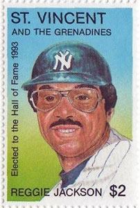1993 St. Vincent – Reggie Jackson Elected to the Hall of Fame
