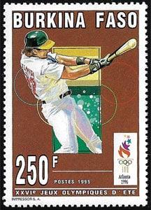 1995 Burkina Faso – 26th Olympic Games, Baseball