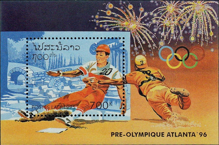 1995 Laos – Pre-Olympics in Atlanta