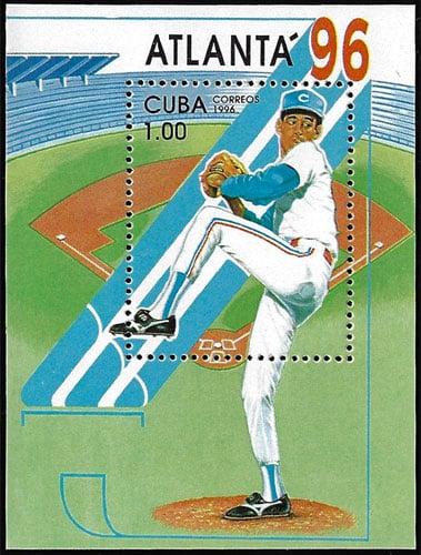 1996 Cuba – Atlanta '96 Souvenir Sheet