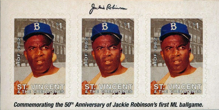 1997 St. Vincent – Commemorating the 50th Anniversary of Jackie Robinson's First Major League Game